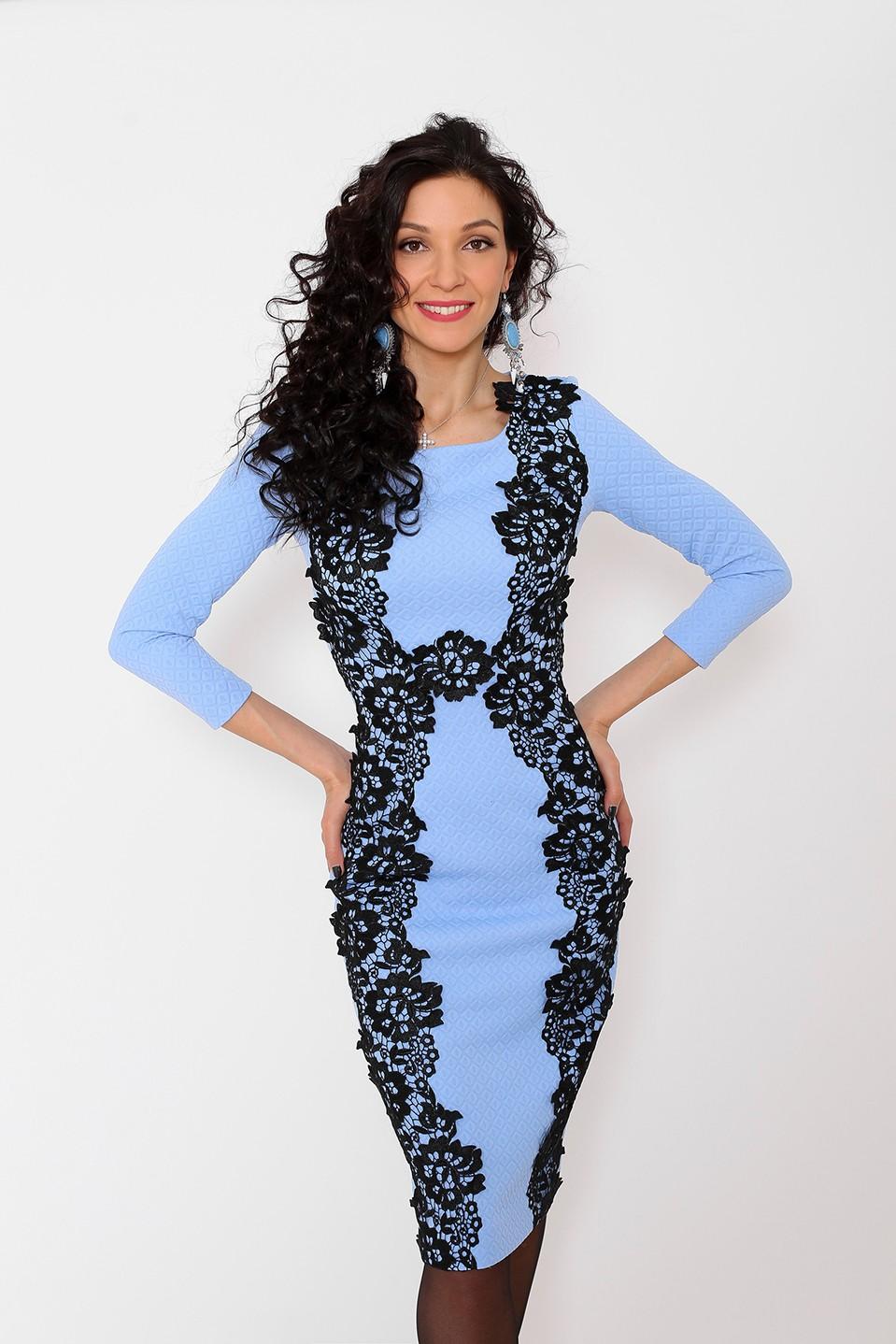 Офисные платья — купить красивое стильное элегантное офисное платье ... a5d8c682c7e