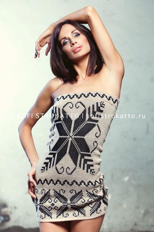 вязаные платья купить модноекрасивоестильное вязаное