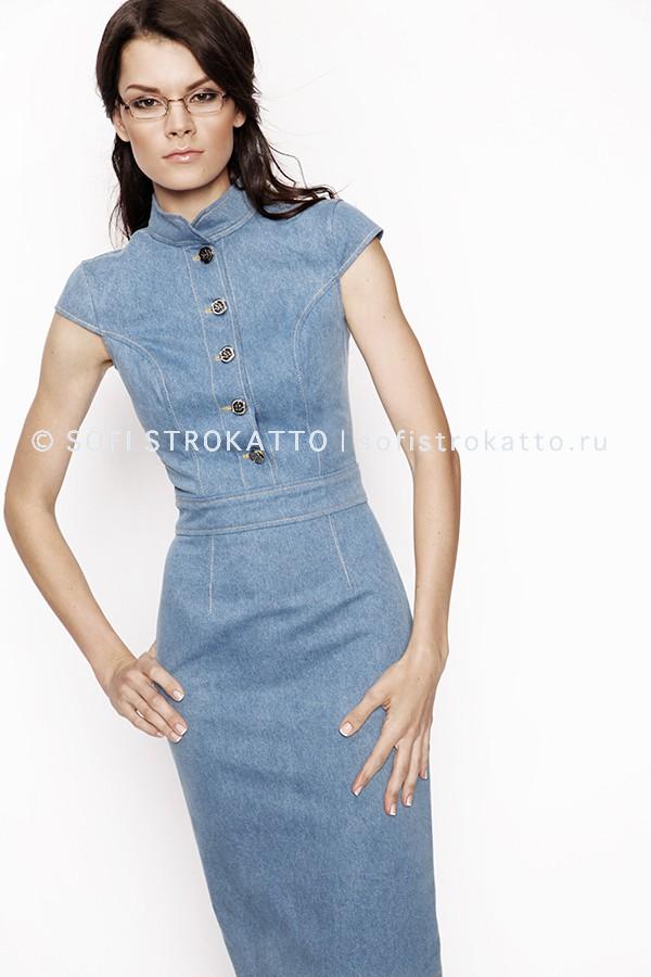 86be1fca54e9417 Джинсовые платья — купить стильное/красивое/модное джинсовое платье ...